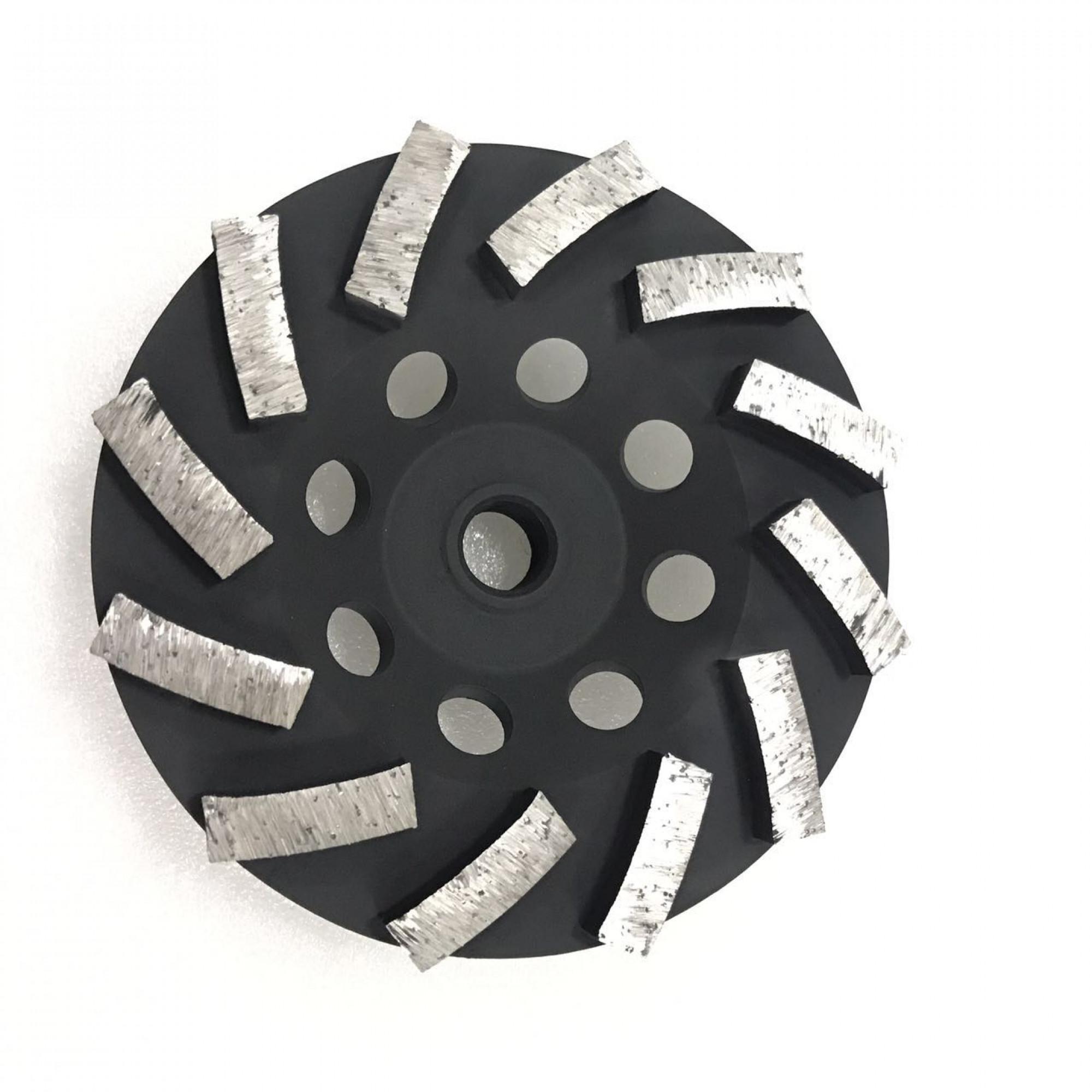 12 SEGMENT CUP WHEEL - 7 inch