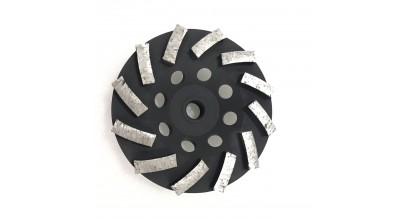 12 Segment Cup Wheel- 7 inch