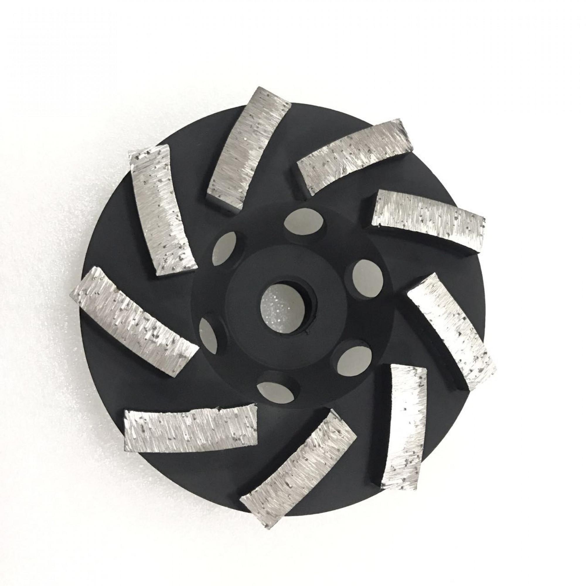 12 SEGMENT CUP WHEEL - 4 inch