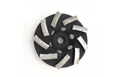 12 Segment Cup Wheel- 4 inch