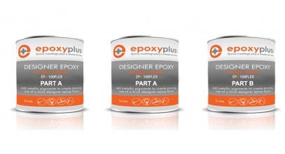 Designer Epoxy- Flex Formula 3 Gal Kit (Coverage: 180-200sf/kit)