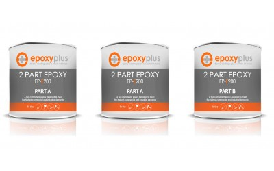 2 Part Epoxy- 3 Gal Kit (Coverage: 300-450sf/kit)