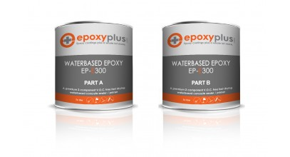 Water Based Epoxy- 1.25 Gal Kit (Coverage: 400-500sf/kit)