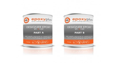Designer Epoxy- 1.5 Gal Kit- Used for designer metallic epoxy system (Coverage: 90-100sf/Kit)