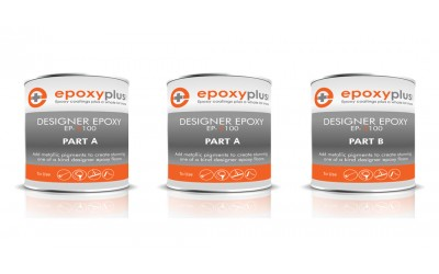 Designer Epoxy -3 Gal Kit- USED FOR DESIGNER METALLIC EPOXY SYSTEM (Coverage: 180-200sf/kit)