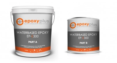 WATER BASED EPOXY- 5 GAL KIT (Coverage: 1600-2000sf/kit)